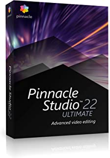 Pinnacle Studio 22 Ultimate |Ultimate|1|1 An|PC|Disque