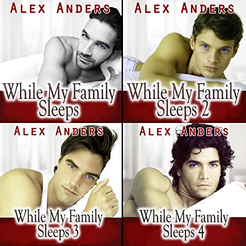 While My Family Sleeps 1-4 audiobook cover art