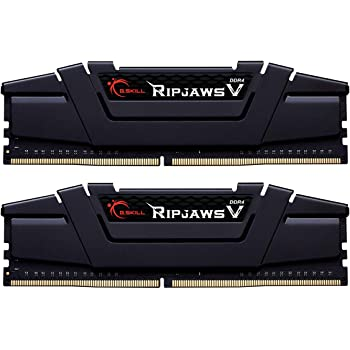 G.SKILL 32GB (2 x 16GB) Ripjaws V Series DDR4 PC4-25600 3200MHz for Intel Z170 Platform Desktop Memory Model F4-3200C16D-32GVK