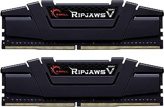 G.Skill Ripjaws V Series 16GB (2 x 8GB) 288-Pin SDRAM PC4-28800 DDR4 3600MHz CL16-19-19-39 1.35V Desktop Memory Model F4-3600C16D-16GVKC