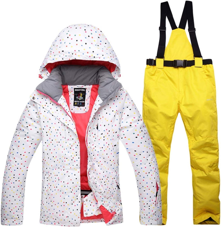 CEFULTY Women's Waterproof Breathable Snowboard Ski Jacket