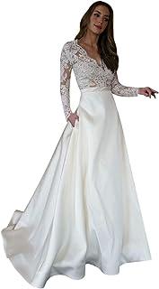 96b8eb971a688 Amazon.com: Ivory - Wedding Dresses / Dresses: Clothing, Shoes & Jewelry