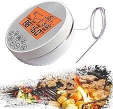 QXM Digitale keukenthermometer voor oven, vlees, BBQ, barbecue, braden, eten koken, water, melk, vloeistof, temperatuurwee...