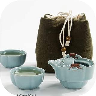 Coffee tea sets Ceramic teapot kettle cup of tea portable travel tea set chinese Kung fu tea sets,Travel tea sets,Style A