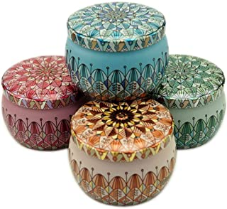 Best decorative candle tins Reviews