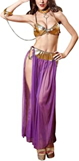 Sheer Harem Belly Dance Costume Lingerie Set