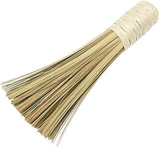 BESTONZON Brosse de Wok en Bambou Naturel pour Nettoyage de Wok