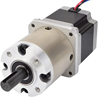 STEPPERONLINE 15:1 Planetary Gearbox Nema 23 Stepper Motor 2.8A for DIY CNC Mill Lathe Router