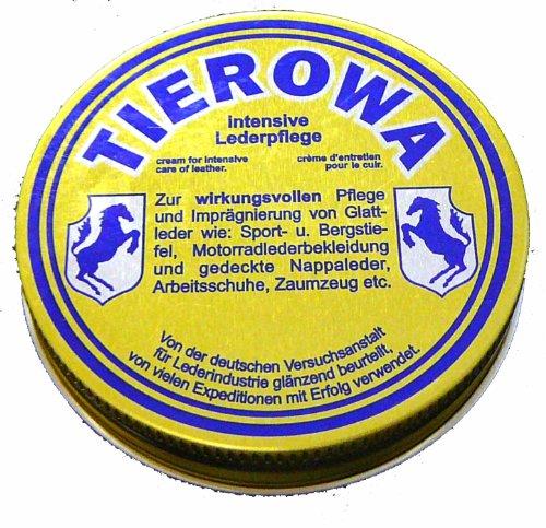 Tierowa Intensive Lederpflege, zur imprägnierung von Glattleder, Dose 20ml