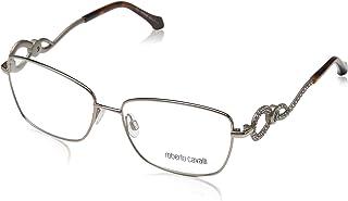 Roberto Cavalli RC5003 - 034 Eyeglass Frame shiny light bronze w/ Clear Demo Lens 54mm