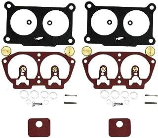 Karbay Outboard Carb Rebuild Kit for Yamaha V4-V6 Kit 6E5-W0093-06-00 115 130 150 175 200 225 (2) Using Fluorelastomer