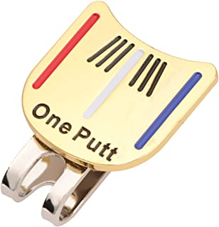 Dolity One Putt Hat Visor Clip Golf Ball Markers Golf Accessories Golf Lover
