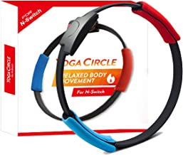 DOBE Switch Game Fitness Ring Adventure NS Ring Fit Somatosensory Sports Game Yoga Fitness Ring + Leg Straps, Suitable for...