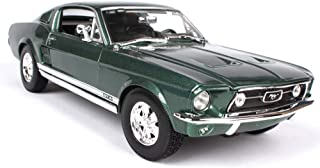 GBHJJ Modellbil byggsats, 1:18 simuleringslegering bil modell metall leksaksbil, fram- och bakhjul har stötdämpande funkti...