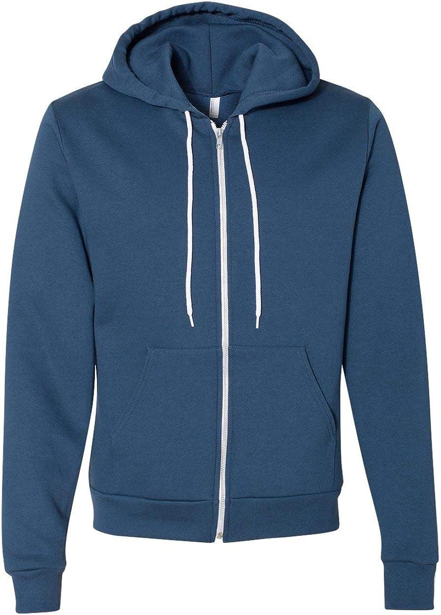 American Apparel Flex Fleece Long Sleeve Zip Hoodie-USA Collection