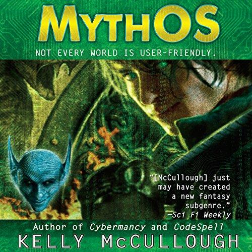 MythOS audiobook cover art