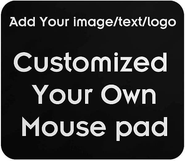 自定义您的个性化鼠标垫添加图片,文字,徽标或艺术设计,使您自己喜欢的鼠标垫黑色
