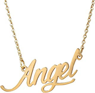 Best angel necklace name Reviews