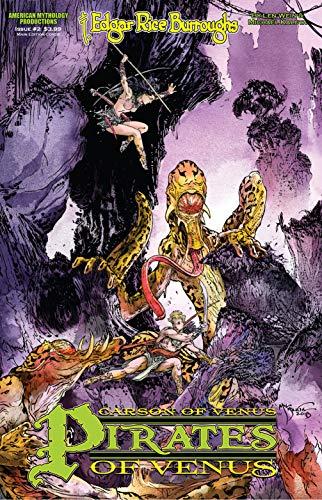 Carson of Venus: Pirates of Venus #2 (ERB Universe Carson of Venus) (English Edition)