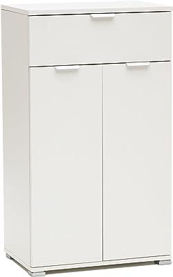 disponibile in due diversi colori Marrone ca AVANTI TRENDSTORE Bea 120x82x35 cm Com/ó con 3 ante e 2 cassetti