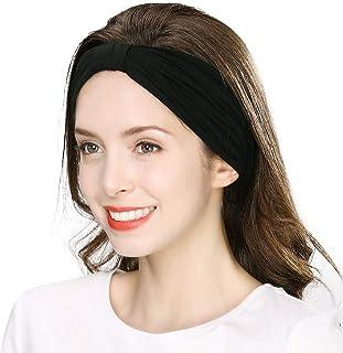 Jeff & Aimy Women Elastic Turban Head Wrap Headband Hair Band