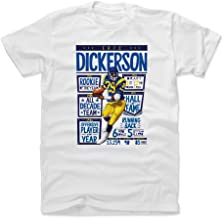 500 LEVEL Eric Dickerson Shirt - Vintage Los Angeles Football Men's Apparel - Eric Dickerson Stats