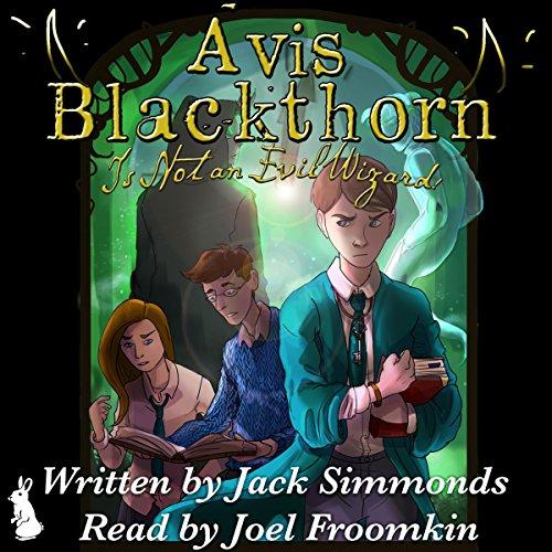 Avis Blackthorn: Is Not an Evil Wizard! (The Wizard Magic School Series, Book 1) audiobook cover art