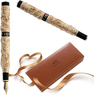 JinHao Luxury Fountain Pen Dragon and Phoenix Chinese