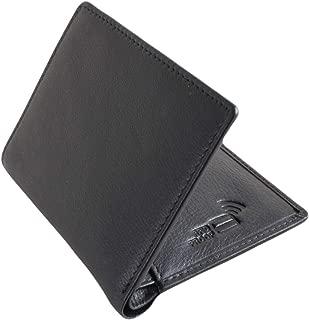 David Van Hagen Mens Billfold Card Case - Black