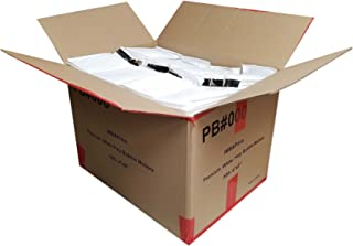 """iMBAPrice 500#000 (4"""" x 8"""") Pure White Color SELF Seal Poly Bubble MAILERS Padded Shipping ENVELOPES (Total 500 Bags)"""