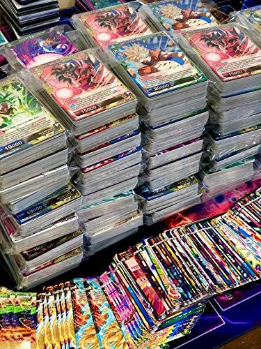 Générique Lot 50 Cartes sans Double Dragon Ball Version Francaise + 1 Rare!…