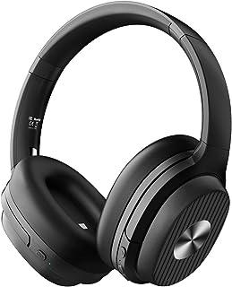 ノイズキャンセリング ヘッドホン Bluetooth 5.0 AAC対応 60時間再生 ワイヤレスヘッドホン Type-C充電 CVC8.0 有線 マイク付き EKSA E5