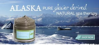 Alaskan Glacial Mud- Glacial Facial Mask - Unscented - 3.5 oz