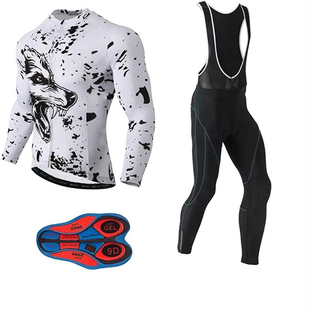 Moxilyn Men's Quick-Dry Cycling Jersey Bicycle Bike Max 85% OFF Road Shi Set Super sale