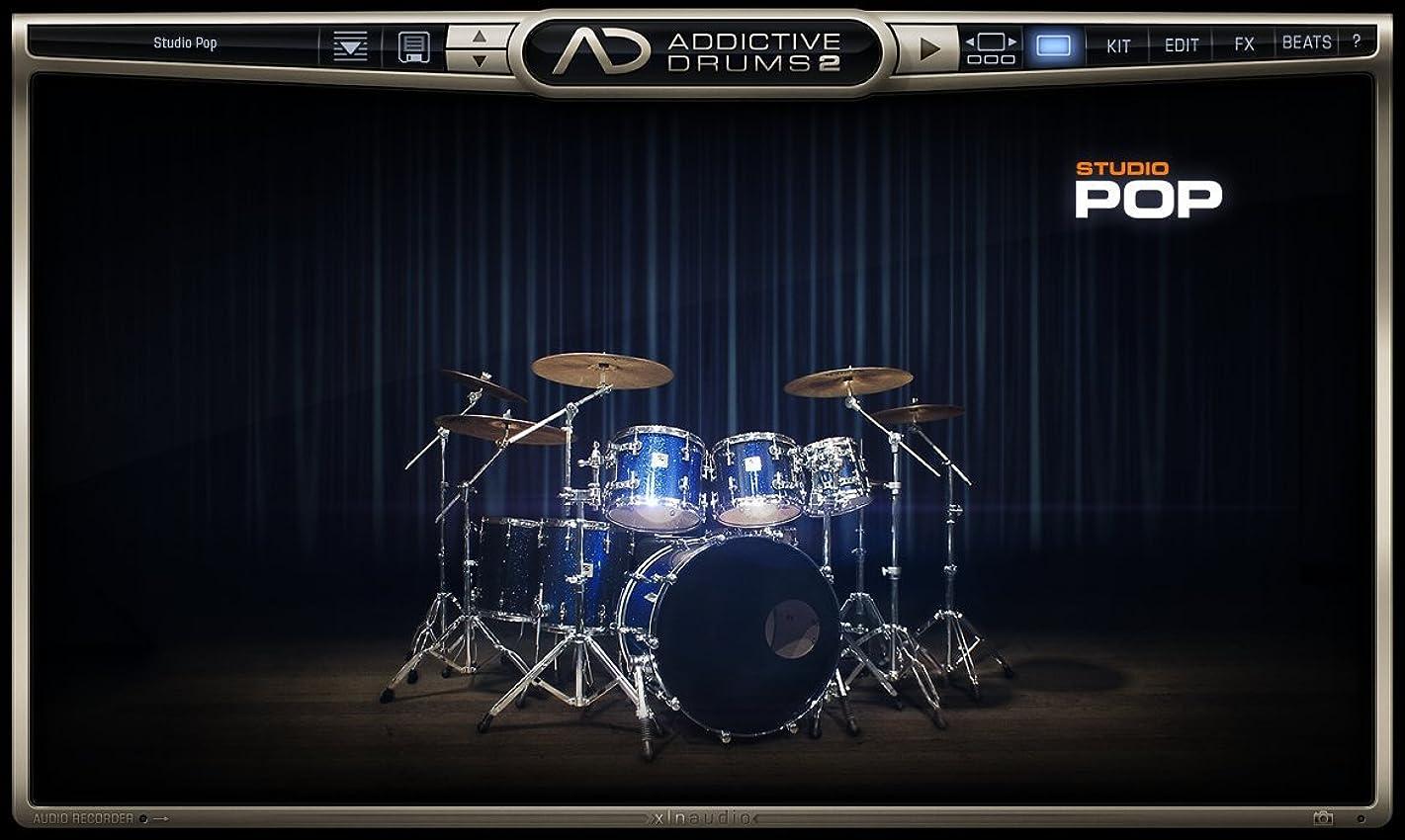 小石治安判事前任者XLN Audio Studio POP  Addictive Drums 2 専用拡張音源