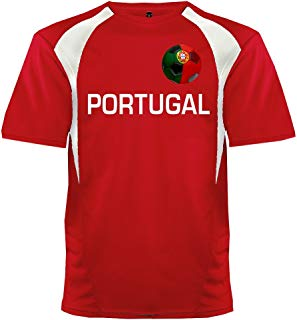 Custom Portugal Soccer Ball 1 Jersey Personalized with Your Names and Numbers