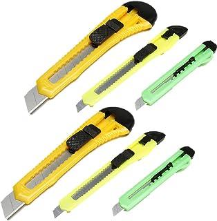 DARICE 1095-34-2PK LEVADO 1095-34 608766668047 Retractable Razor Knife Set, Assorted Color (2 Pack), Natural