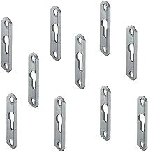 Kastophangsysteem bed Stabiele universele meubelverbinder. 16 x 60 x 3,5 mm Staal verzinkt