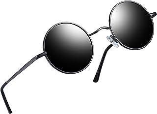 6440da72d4 Joopin-Round Retro Polaroid Sunglasses Driving Polarized Glasses Men  Steampunk