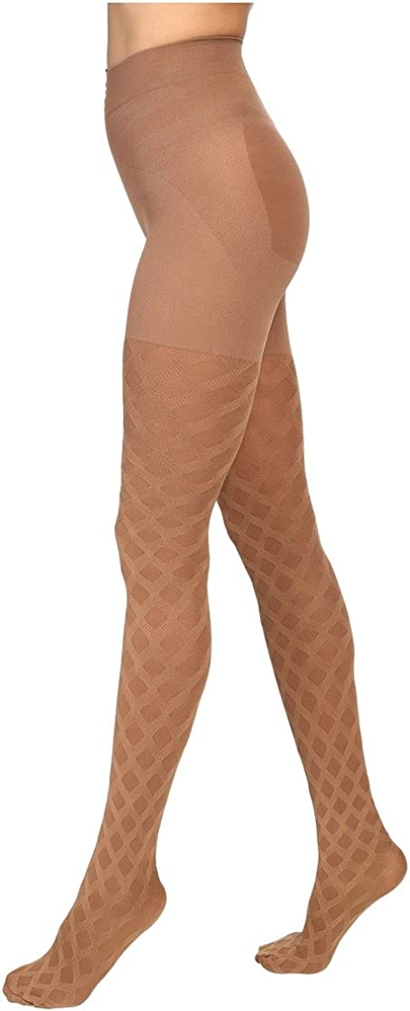 Hue Women's Made To Move Diamond Weave Shaping Tight