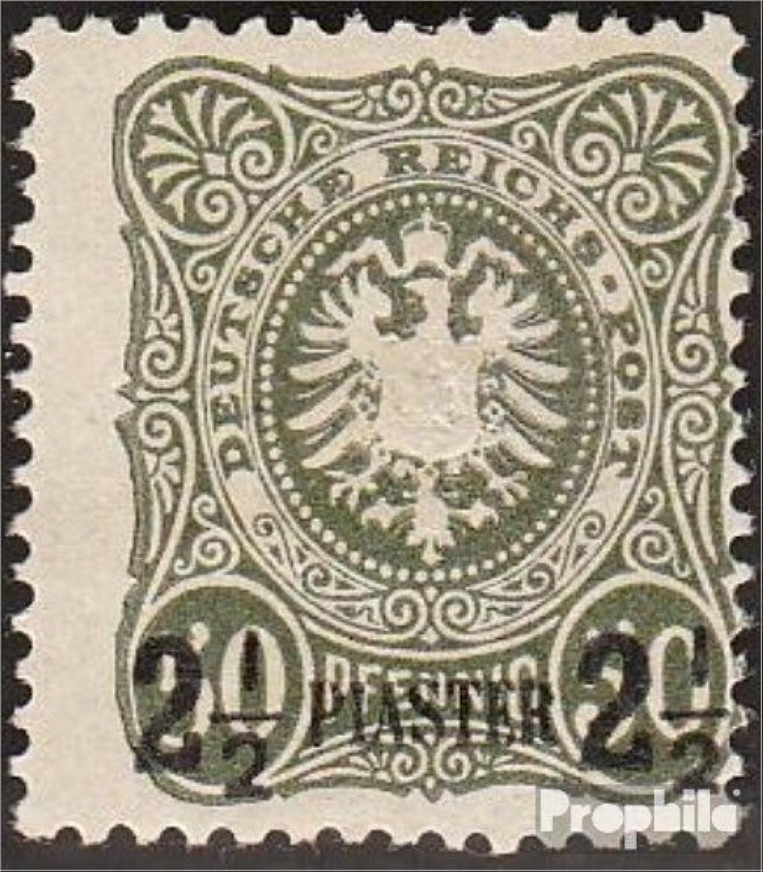estar en gran demanda Prophila Prophila Prophila Collection alemán. Correos Turquía 5a examinado 1884 emisión de sobreCochega (Sellos para los coleccionistas)  colores increíbles