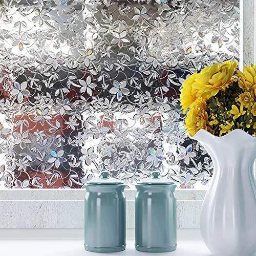 LMKJ Ventana de privacidad película de Papel de Aluminio te