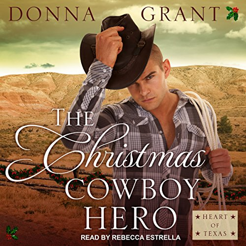 The Christmas Cowboy Hero audiobook cover art
