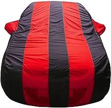 Bull Rider Car Body Cover for Tata Indigo CS (with Mirror Pockets- Red&Blue)