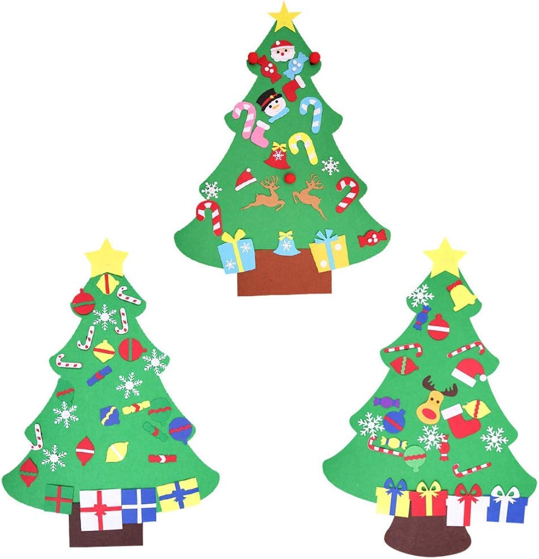 Precio por piso Árbol De De De Navidad Estéreo Hecho A Mano Rompecabezas De Los Nios Del árbol De Navidad Navidad Colgando Ceremonia Fiesta Familiar Fiesta (Paquete De 3)  cómodamente