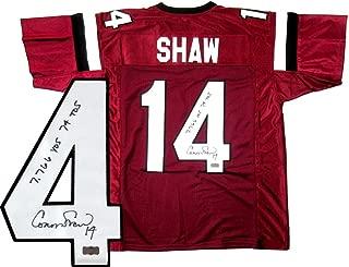 Connor Shaw Autographed Jersey - South Carolina Gamecocks Custom Ca. - Autographed College Jerseys