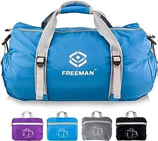 Youlerbu Packable Travel Small Duffel Bag Sports Gym Bag Lightweight Weekender Bag for Men Women Water-proof & Tear Resistant