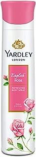 Yardley London English Rose Body Spray For Women (5 ounce)
