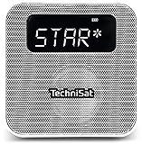 TechniSat Digitradio Flex DAB Steckdosenradio mit Akku weiß