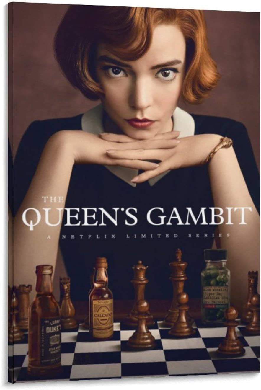The Queen/'s Gambit Poster TV Series Art